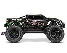 Автомобиль Traxxas X-Maxx Brushless Monster 8S 1:5 RTR 779 мм 4WD TSM 2,4 ГГц (77086-4 Green), фото 3
