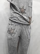 Комбинезон ,трикотаж серый, фото 3