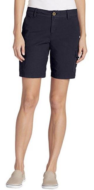 Шорты Eddie Bauer Adventurer Stretch Ripstop Bermuda Shorts - Slightly Curvy 2US
