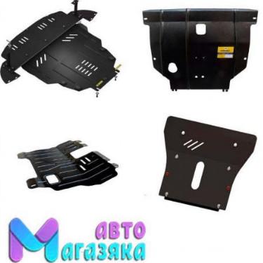 Защита двигателя Ford Mondeo 3 (ДВС+КПП) 2000-2007 кроме ДТ (Щит)