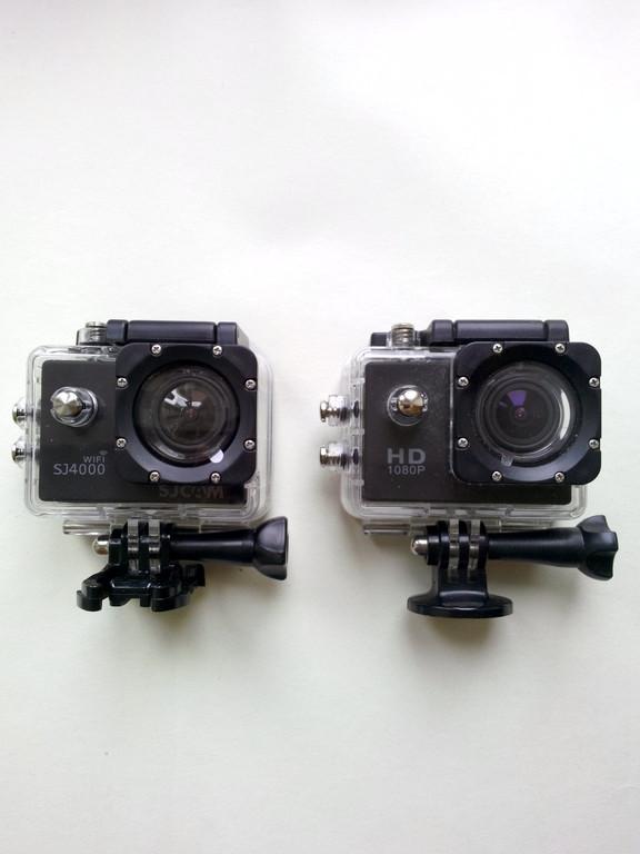 Сравнение оригинальных экшн-камер SJ4000 и SJ4000 c WiFi