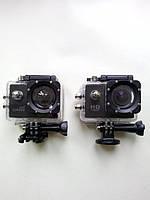 Камеры упакованы в кейсы. По размерам камеры абсолютно одинаковые. Какую из версий выбрать решать Вам. Приобретайте только оригинальные экшн-камеры.