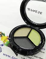 Тени для глаз Перламутровые (232) Opal Eyeshadows Perl Silk Trio Paese
