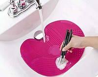 Коврик для чистки кистей Spa Brush Cleaning Mat!Скидка