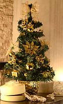 Елка   украшенная 45 см золотая 0305 G, фото 3