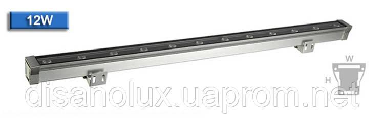 Led  линейный  светильник для архитектурной подсветки HZ-WW-003  12W 6000К 220V IP65