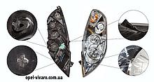 Фара левая электрическая коррект Renault Master III 2010-2018