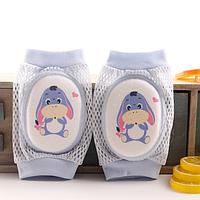 Наколенники для детей сетчатые с удлиненной мягкой вставкой