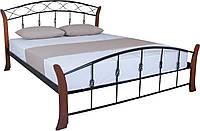 Кровать  в спальню двуспальная Летиция Вуд