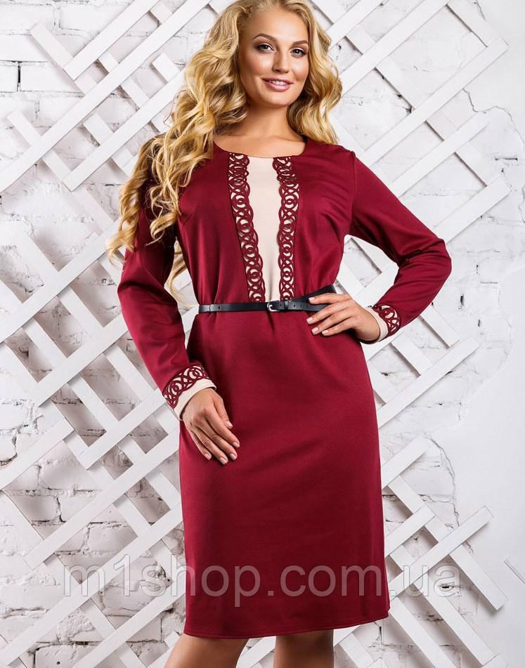 4b600a5fb18c7db Женское трикотажное платье для полных (2329-2330 svt) , цена 440 грн ...