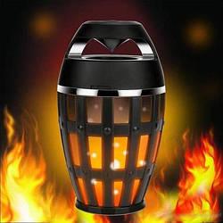 Беспроводная колонка Flame Atmosphere Speaker с пламенной подсветкой.