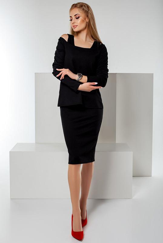 Черные женские костюмы *ДИАНА* ОПТОМ