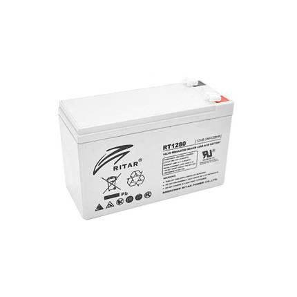 Аккумулятор 12V вольт 8 ah ампер, фото 2