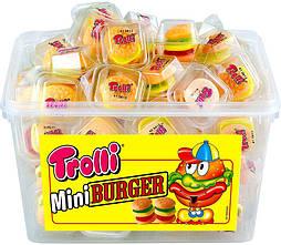 Тролли Бургер /Trolli Mini Burger( 6 штук в ящике)