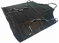 Фартук для работы с кислотами и щелочами для защиты от химикатов из ПВХ 0,5 мм с тканью