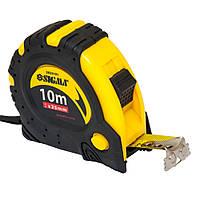 Рулетка магнитная фиксатор+тормоз 10м*25мм Sigma (3823101)