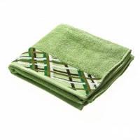 Махровое полотенце Marca Marco Ajda зелень 70 см на 140 см