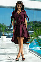 Оригинальное коттоновое платье     (44-52)