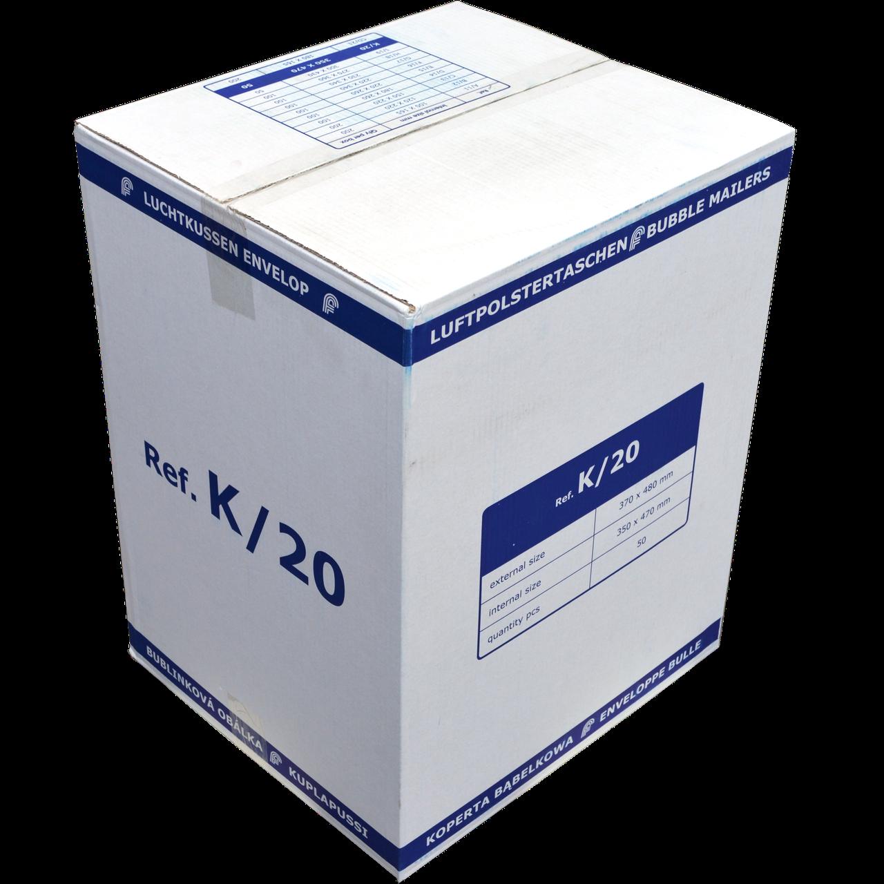 Бандерольный конверт K20, 50 шт, Польша