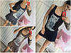 Летнее женское платье-сарафан с совой 30917