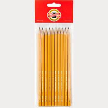 Олівець графітний 1570, 2H (полібег 10 шт)