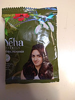 Краска для волос на основе хны Herbal Mehandi 4 пачки по 20 г
