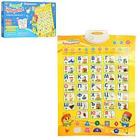 Развивающий говорящий плакат Азбука Limo toys (7002 RU)