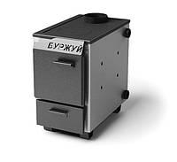 Буржуй КП-10 кВт - котел твердотопливный с чугунной плитой для помещений до 100 м.кв., фото 1