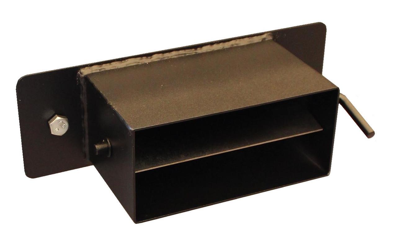 Вывод дымохода прямоугольный для котла Буржуй КП-12, КП-18, К-15