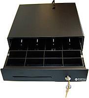 Денежный ящик ІКС Е3336D горизонтальний 330 х 360 х 80мм