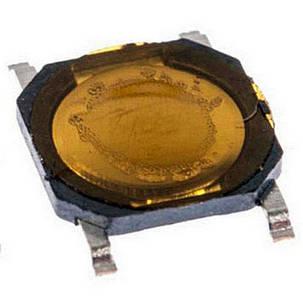 Кнопка тактовая мембранная 4х4х0.8мм 4-х контактная, фото 2