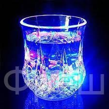 Стакан с подсветкой Color Cup!Скидка