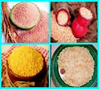 Крупы ячневая, перловая, пшеничная, горох колотый