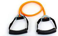 Эспандер трубчатый с ручками PS FI-1076-С (латекс. жгут,d-13x3мм, l-110см, ручка пластик, оранжевый)