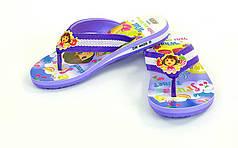 Вьетнамки для девочек Dora DR-4605-D-V (EVA, р-р RUS-30-35, фиолетовый)
