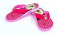 Вьетнамки для девочек Miki MA-0351-P  (EVA, р-р RUS-30-35, розовый)