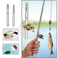 Мини-удочка в форме ручки FISHING ROD IN PEN CAS!Скидка