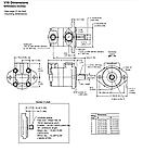 Одинарные пластинчатые насосы Eaton Vickers, серия V10, V20, фото 2