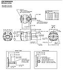 Одинарные пластинчатые насосы Eaton Vickers, серия V10, V20, фото 3
