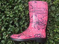 Сапоги резиновые женские розовые Литма, фото 1