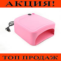 УФ лампа для ногтей ZH818А с таймером!Хит цена