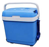 Автомобильный холодильник 30L 12/220V на колесиках