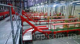 Конвейер ленточный (стационарный, передвижной) ширина 200 мм длинна 10 м., фото 3