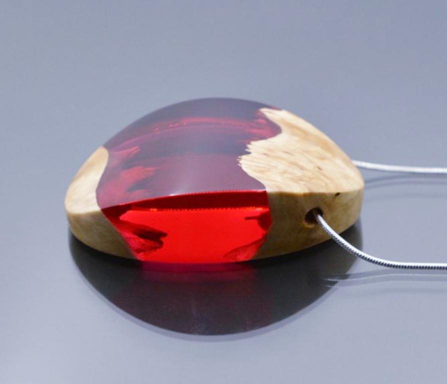 Красный краситель для эпоксидных смола DEEP Дип