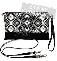 Клатч mini Україна 15-048 Принт Вишиванка , фото 1