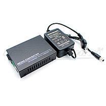 Медиаконвертер 1310 WDM (IC+113), 10/100 Мбит одноволоконный Full/Half duplex, SC 25 км, фото 3