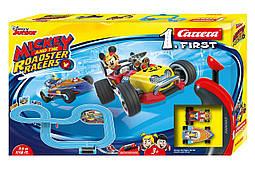 Автотрек Микки и гонки роадстеров Carrera First 2,4 м (CR-20063012)