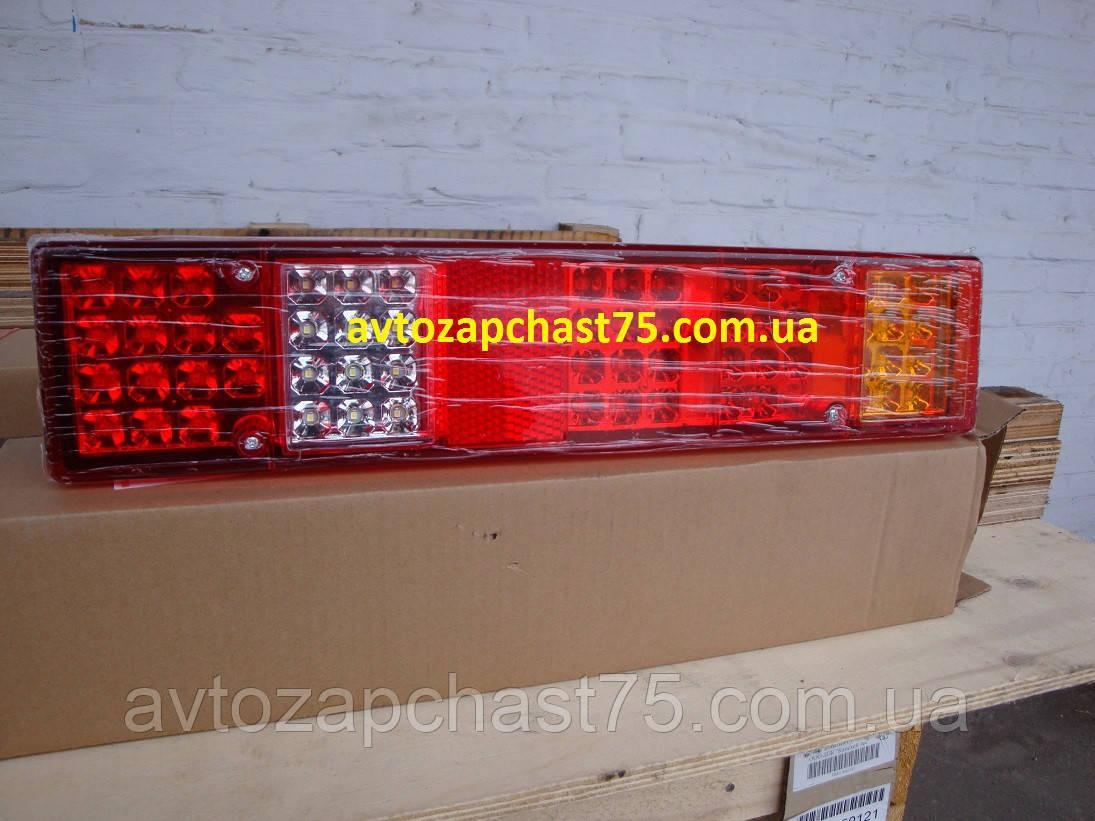 Фонарь Газель, Газ 3302, светодиодный, задний (производитель Дорожная карта, Харьков)