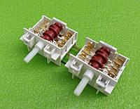 Переключатель режимов двойной семипозиционный DREEFS 5HE / 555 для конфорок электроплит GORENJE, фото 1
