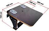 Подставка под спиннинги и эхолот с откидным столиком, фото 4